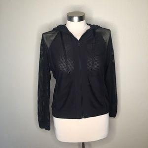 Lululemon Mesh Hooded Jacket